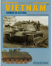 Vietnam Armor in Action, Armor at War no 7040, Concord