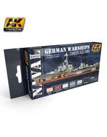 WWII German Warships, AK Interactive