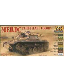 MERDC Camouflage Colors, AK Interactive