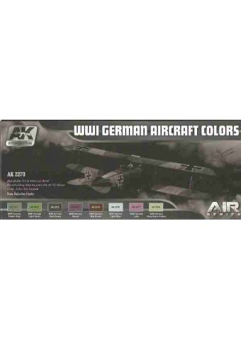 WWI German Aircraft Colors, AK Interactive