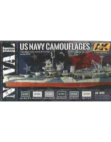 US Navy Camouflages, AK Interactive