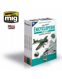 Complete Encyclopedia of Aircraft Modelling Techniques (5+1 Τόμοι + Θήκη), Ammo of Mig Jimenez