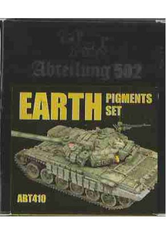 Earth Pigments Set, Abteilung 502