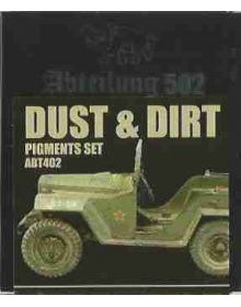 Dust & Dirt Pigments Set, Abteilung 502