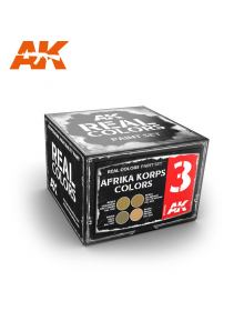 Afrika Korps Colors Set, AK Interactive