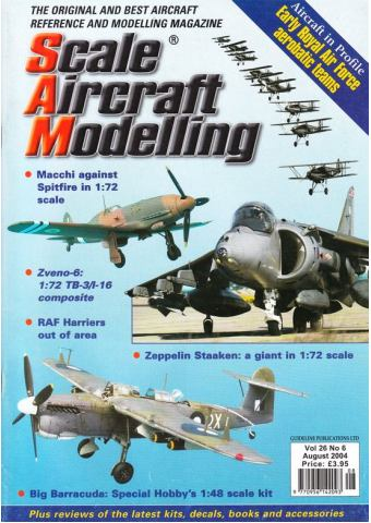 Scale Aircraft Modelling 2004/08 Vol 26 No 06