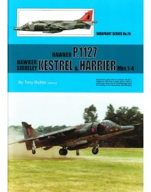 P.1127, Kestrel & Harrier, Warpaint 74