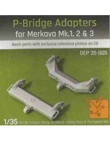 P-Bridge Adapters for Merkava Mk.1, 2 & 3 - 1/35
