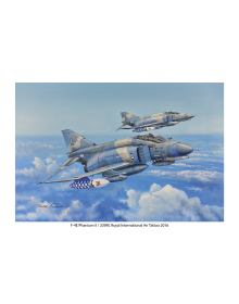 Aviation Art Painting F-4 PΗΑΝΤΟΜ II / HAF 339 SQN / RIAT 2016 - medium size print