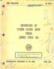 DICTIONARY OF UNITED STATES ARMY TERMS