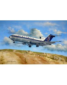 Aviation Art Painting: Olympic Airways Boeing 727-284 (Canvas print)