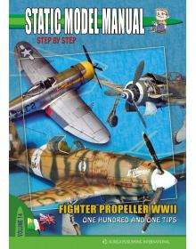 Fighter Propeller WWII, Static Model Manual Vol. 14, Auriga