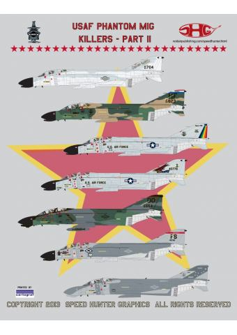 USAF Phantom Mig Killers - Part II 1/48