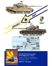 Centurion tanks of IDF - Part 2