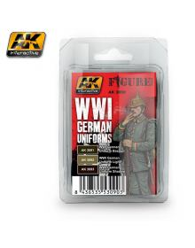 WWI German Uniforms, AK Interactive