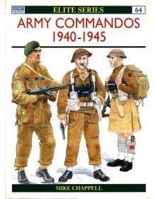 Army Commandos 1940–45, Elite No 64, Osprey
