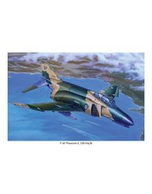 Aviation Art Painting F-4 PΗΑΝΤΟΜ II / HAF 338 SQN - medium size print