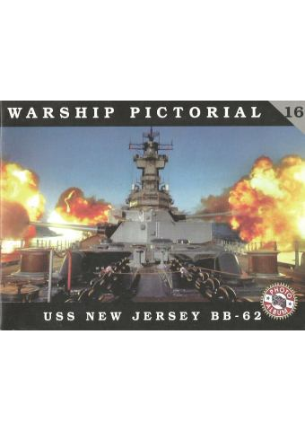 USS New Jersey, Warship Pictorial No 16
