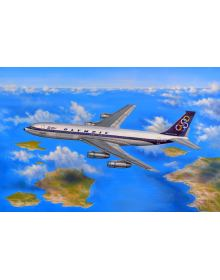 Aviation Art Painting: Olympic Airways Boeing 707 (Canvas print)