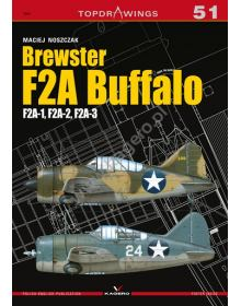Brewster F2A Buffalo, Topdrawings 51, Kagero