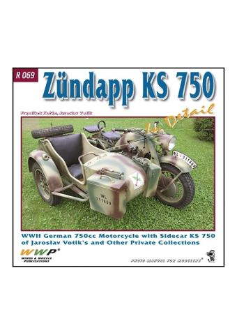 Zundapp KS 750 in detail, WWP