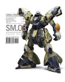 SM.03 Sazabi Custom, Rinaldi Studio Press