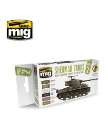 Set Sherman Tanks Vol. 2