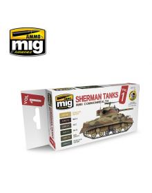 Set Sherman Tanks Vol. 1