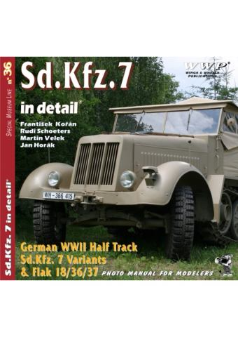 Sd.Kfz.7 Variants in Detail, WWP