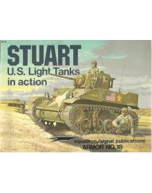 Stuart US Light Tanks in Action, Armor no 18