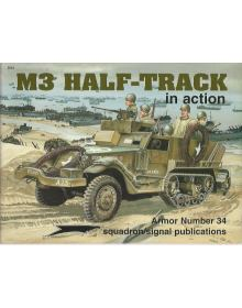 M3 Half-Track in Action, Armor no 34, Squadron / Signal