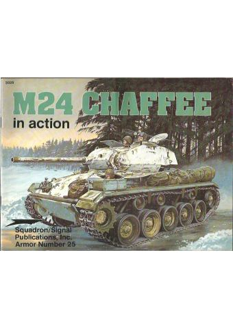 M24 Chaffee in Action, Armor no 25, Squadron / Signal