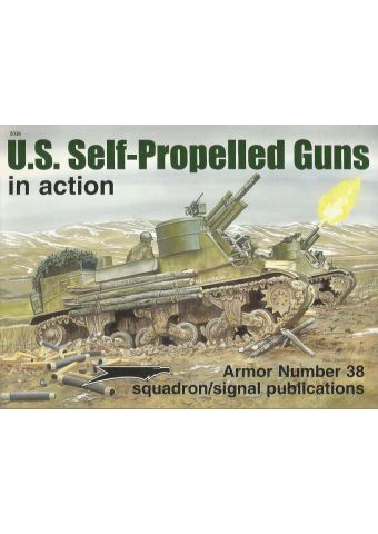 US Self-Propelled Guns in Action, Armor no 38
