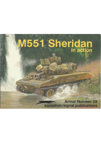 M551 Sheridan in Action, Armor No 28, Squadron/Signal
