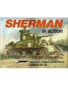 Sherman in Action, Armor no 16, Squadron / Signal