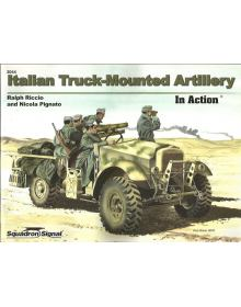 Italian Truck-Mounted Artillery in Action, Armor no 44