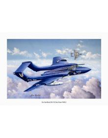 Aviation Art Painting DH.110 Sea Vixen - Medium size Print