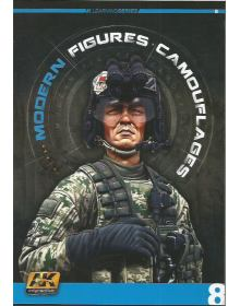 Modern Figures Camouflages, AK Interactive