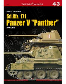 Sd.Kfz. 171 Panzer V Panther, Topdrawings No 43, Kagero