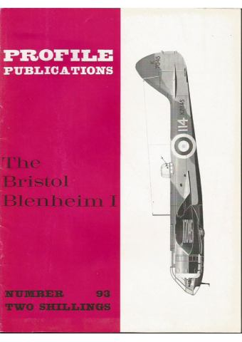 The Bristol Blenheim I, Profile Publications Number 93