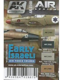 Early Israeli Air Force Colors, AK Interactive