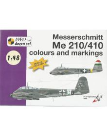 Messerschmitt Me 210 / 410 Colours & Markings 1/48, Mark I