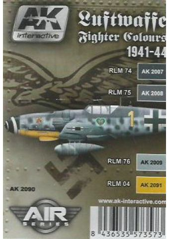 Luftwaffe Fighter Colours 1941-44, AK Interactive