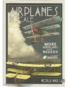 Airplanes in Scale - Vol. 3: World War I, Accion Press