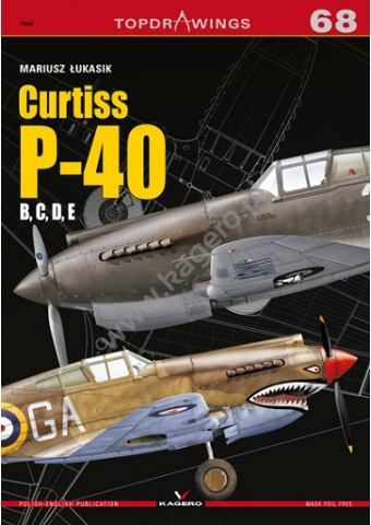 Curtiss P-40, Topdrawings 68, Kagero
