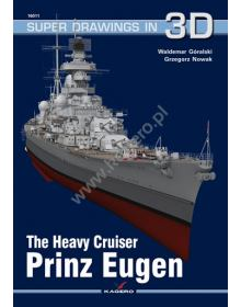 Prinz Eugen, Super Drawings in 3D no 11, Kagero