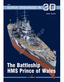 The Battleship HMS Prince of Wales, Super Drawings in 3D No 69, Kagero