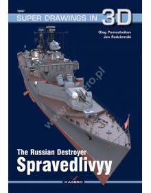 The Russian Destroyer Spravedlivyy, Super Drawings in 3D No 67, Kagero