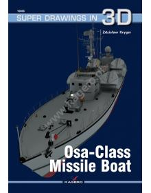 Osa-class Missile Boat, Super Drawings in 3D No 66, Kagero