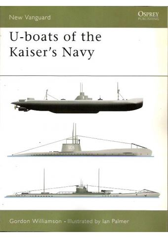 U-boats of the Kaiser's Navy, New Vanguard 50, Osprey